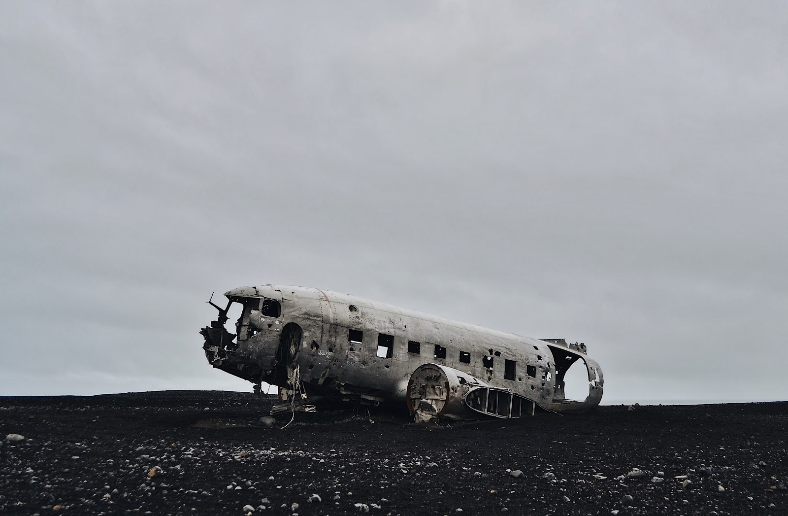 DC3 Plane Wreck Iceland
